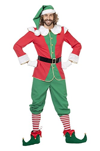 Panelize Weihnachtself Weihnachtswichtel komplett Kostüm viele Größen bis 64 (56)
