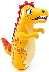 Intex Plastic Dragon Hit Me 3-D Toy Inflatable Bouncer for Kids (Multicolour, 44669)