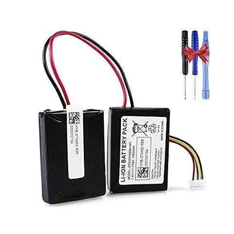 Beats Pill 2.0 Batterie, Keenstone Li-ion Batterie de remplacement Original 7.4 V 1050mAh pour Batterie de type J272/ICP092941SH Batterie Bluetooth sans fil Haut-parleur Portable ( Outil de Tournevis