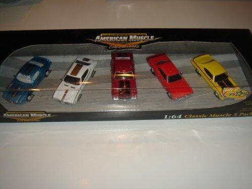 Preisvergleich Produktbild 2005 Ertl Collectibles American Muscle 1:64 Classic Muscle 5 Pack Box Set