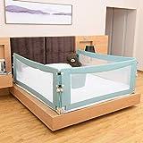 DBSCD Baby-Laufgitter Baby- und Kinderschutzgitter für Säulen, faltbar, vertikaler Hebebettzaun Babyschutzgitter (eine Seite) Stark und langlebig/Hergestellt von Nicht-Zu