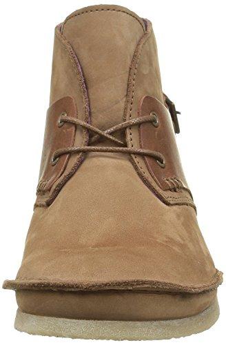 Kickers Damen Mystimix Klassische Stiefel, Knöchelhoch Marron (Camel Foncé)