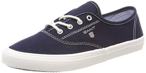 GANT Footwear Damen New Haven Sneaker, Blau (Marine), 41 EU
