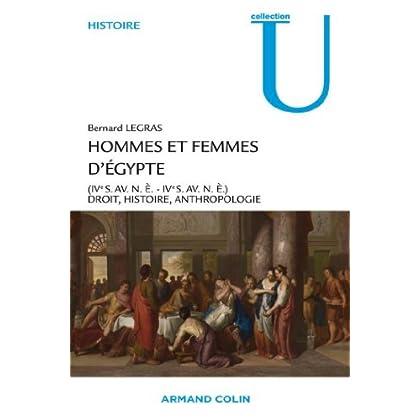 Hommes et femmes d'Égypte (IV° s. av. n.è.-IV° s. de n.è.) : Droit, Histoire, Anthropologie (Collection U)