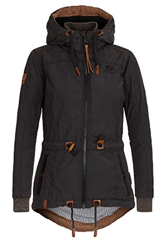 Naketano Female Jacket Schlaubär Black, XXL