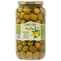 ‏‪Cordoba Pitted Green Olives - 450 gm‬‏