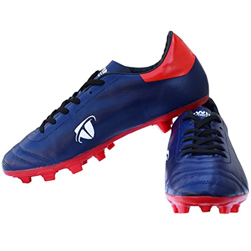 Gowin By Triumph Ace Red/Navy Men Football Shoes Size-6