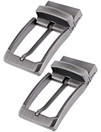 Baoblaze 2 3 20 Unids Hebilla de Cinturón Reversible para Hombres a8ea60d0ed18