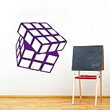 xingbuxin Cube Vinyl Wandaufkleber Kinderspielzimmer Dekoration Kinder Wissen Eon Werkzeug Wandtattoos Wandbild Kunst 5 42x41 cm