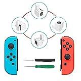 Kit d'outils de réparation de boucles à serrure en métal avec tournevis, pièces de rechange Joy-Con gauches et droites pour Nintendo Switch NS Joy Con...