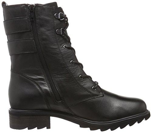 SPM - Blackfish Lace Boot, Stivali a metà polpaccio con imbottitura leggera Donna Nero (Nero (nero))