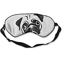 Simple Pug Dog 99% Eyeshade Blinders Sleeping Eye Patch Eye Mask Blindfold For Travel Insomnia Meditation preisvergleich bei billige-tabletten.eu