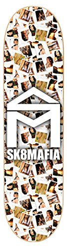 Sk8mafia House Logo Girls 7.8 Skateboard Deck by Sk8mafia (Snowboard-deck-kids)