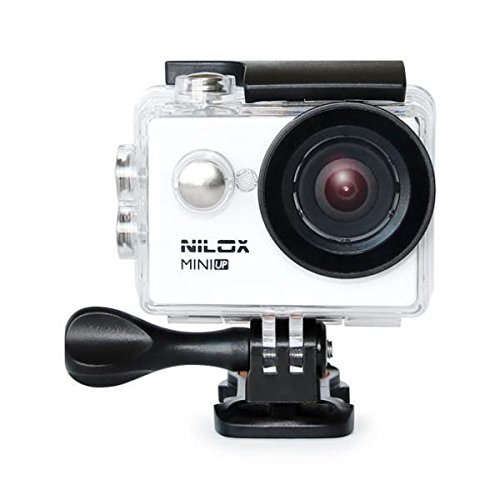 Nilox, MINI UP Actionkamera HD Ready 720p, 30 fps, Weiss (Professional Digital Kamera Video)