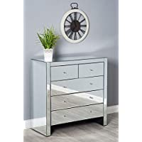 Amazon.co.uk: Glass - Chest of Drawers / Bedroom Furniture: Home ...