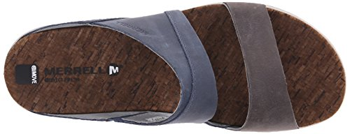 Offene Town Around Damen Sandalen Merrell Blue Slide pwIvq
