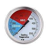Edelstahl BBQ Smoker Grill Pit Thermometer 100-550 ℉ Ofen Kein Fleisch Templehre Haushalt Kochen Werkzeuge Mengonee