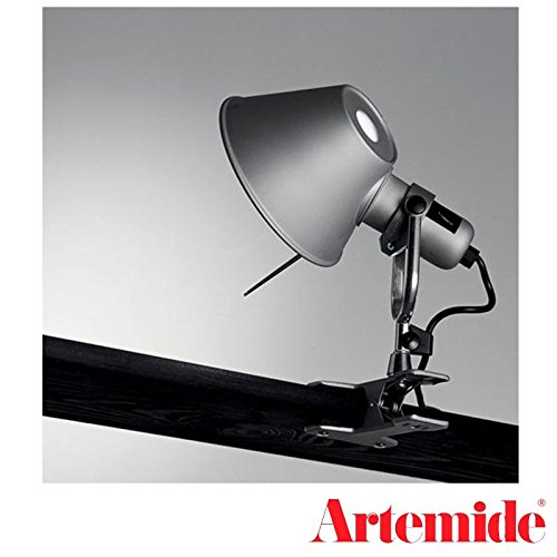 Artemide Tolomeo Micro Pinza LED Aluminium Lampe de table murale design de lucchi Fassina
