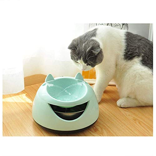 miaoxuewei Katze Wasserspender automatische Zirkulation Katze Trinkbrunnen Katze Trinkbecken Katze Schüssel Hund Trinkbrunnen Mobile