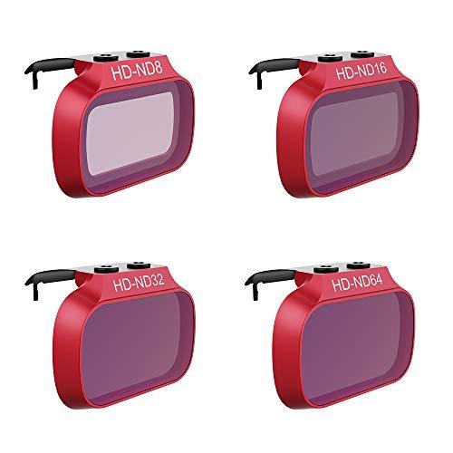 Honbobo PGYTECH Objektivfilter für Mavic Mini, CPL ND4 ND8 ND16 ND32 ND-PL Filter für DJI Mavic Mini, ND Set (ND 8 16 32 64)