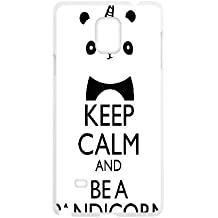 Samsung Galaxy Note 4 Cell Phone Case White keep calm U8I7SS