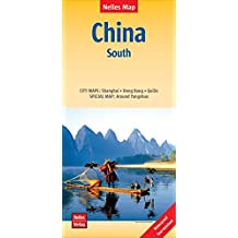 Nelles Map Landkarte China: South: 1:1.750.000 | reiß- und wasserfest; waterproof and tear-resistant; indéchirable et imperméable; irrompible & impermeable (Nelles Map / Strassenkarte)