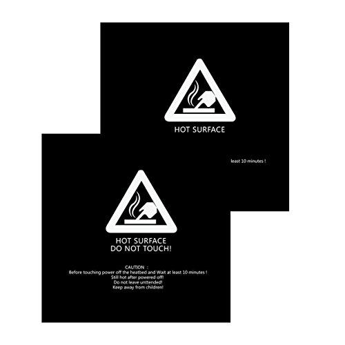 23D Print Teil 300x 300mm schwarz Bj Oberfläche Tape Beheizbares Bett Aufkleber für cr-10 (3d-drucker-bett)