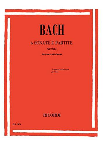 6 Sonate E Partite BWV 1001 - 1006
