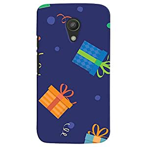 ColourCrust Motorola Moto G2 / Second Generation Mobile Phone Back Cover With Gift Pattern Style - Durable Matte Finish Hard Plastic Slim Case