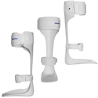 Bodymedics NHS Approved AFO Leaf Spring Ankle Foot Drop 3/4 Support Brace Stabiliser Splint - X-Large/Left