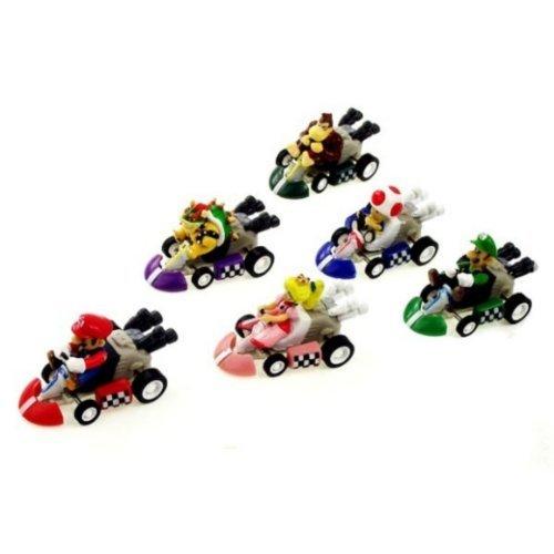 Preisvergleich Produktbild 6 Nintendo Super Mario Kart Figur Figuren ca. 5cm Donkey Kong aus n64 wii gameboy
