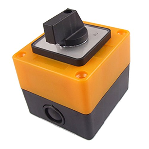 sourcingmap® LW28-20/3 Ui 500V Ith 20A Drehschalter 3 Positionen Umschalter de -