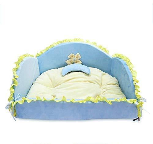 If.hlmf cuccia per cani da compagnia in cotone pp, principessa, gatto, stuoia, divano, nido, cuscino, canile