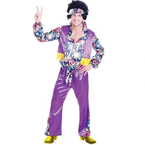 70s Groovy Guy Erwachsenen Kostüm - PLUS Size (Groovy Guy Kostüme)