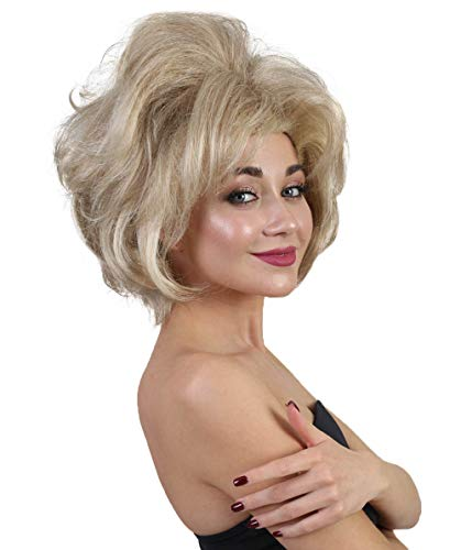 'HILLARY CLINTON STYLE WIG' (Presidential Election Campaign) | HD-1076