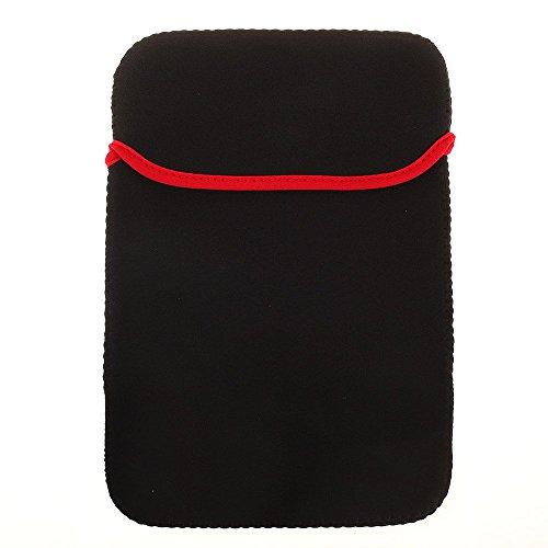 BRALEXX Universal Neopren 10 Zoll Tablet PC Hülle passend für Blaupunkt ENDEAVOUR 1010, Schwarz
