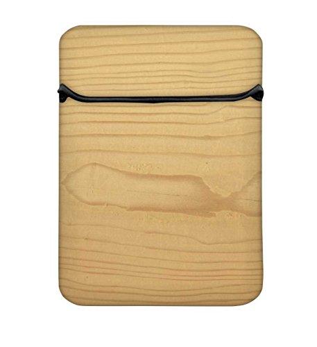 Snoogg Textura Lautsprecherkabel de Madera 25,4cm einfachen Zugang Gepolstertes Laptop...