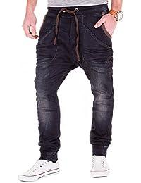 REDBRIDGE jogg Jeans by Cipo & Baxx Hombre Drop crotch Pantalón Sudadera Pantalón Slim Fit W29 de W38 L32/L34