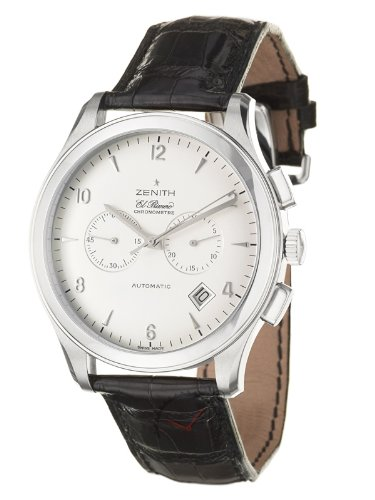 Zenith - Grande Class El Primero 03.0520.4002/01C492 - Montre Homme - Bracelet en Cuir