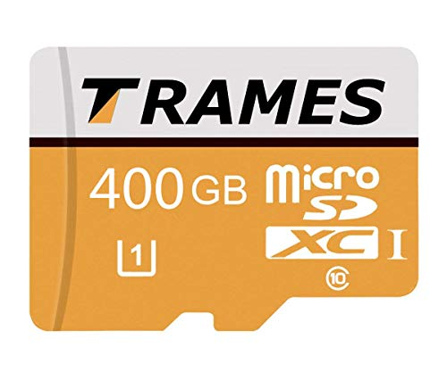 128 GB / 256 GB / 400 GB Micro SD SDXC-Speicherkarte High Speed Class 10 mit Micro SD-Adapter Für Android-Smartphones, Tablets und andere MicroSDXC-kompatible Geräte (400GB)