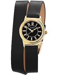 Just Watches Damen-Armbanduhr XS Analog Quarz Leder 48-S4062-GD-BK