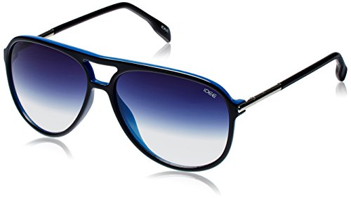 IDEE Aviator Sunglasses (IDS1897C2SG|59|Black and Blue ) image