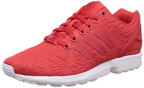 adidas ZX Flux, Chaussures de Running Entrainement Mixte Adulte, Rouge Rouge (Vivid Red/Vivid Red/Core Black)