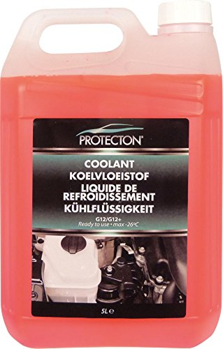 Protecton 1890910 Kühlflüssigkeit G12/G12+ 5-Liter gebrauchsfertig, Rosa