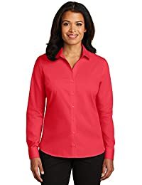 Red House Ladies Non-Iron Twill Shirt. RH79 Dragonfruit Pink M