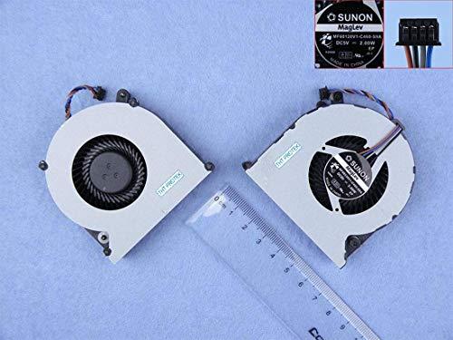 Kompatibel für HP PROBOOK 4530s 4730s 4535s Lüfter Kühler Fan Cooler, 6033B0024002 641839-001 (Probook Laptop Hp 4530s)