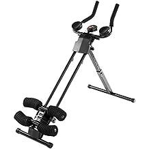 Ultrasport Ultra 150 Fitness Power AB Trainer, Attrezzo per Addominali, Pieghevole, 128 x 54 x 16 cm