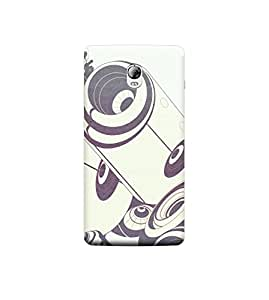 Ebby 3d printed back case cover for Lenovo Vibe P1(Premium Designer Case)