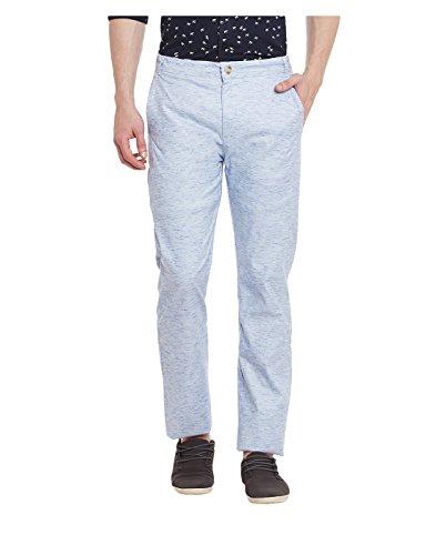 Yepme Men's Linen Blend Trousers - Ypmtrou0043-$p