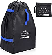 CHOSMO Car Seat Bag Backpack for Air Travel Universal Infant Carseat Storage Bag for Airplane Gate Check Large